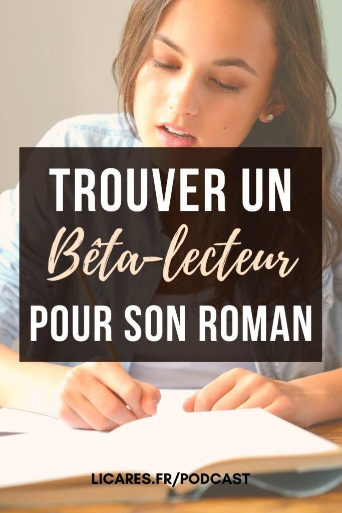 beta lecteur correction roman