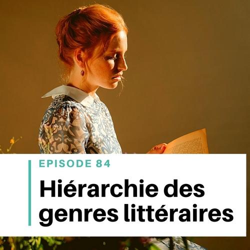 différents genres littéraires hiérarchie