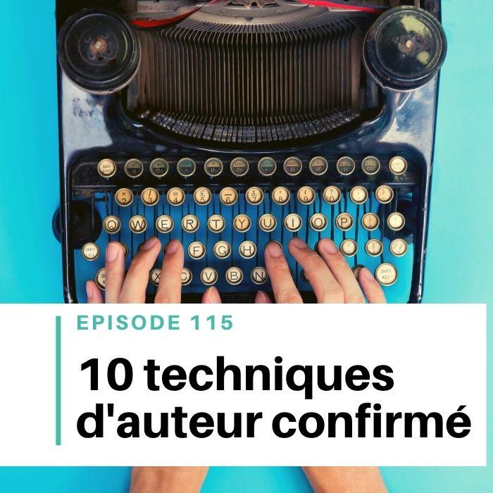 10 techniques d'écriture de roman